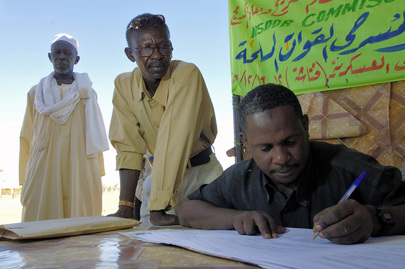 Disarmament, Demobilization and Reintegration Exercise in Sudan
