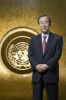 Portrait of  New Secretary-General