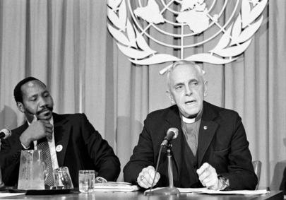 Press Conference by British Anti-Apartheid Movement