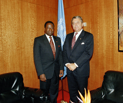 President of General Assembly Meets with President of Uruguay
