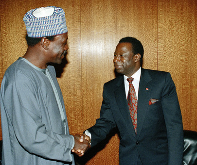President of the General Assembly Meets with Foreign Minister of Nigeria