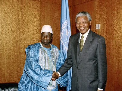 President of General Assembly Meets with President of South Africa