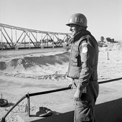 UN Truce Supervision Organization, Military Observer Operation in Suez Canal Sector