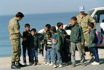 United Nations Truce Supervision Organization (UNTSO) - Peacekeepers' Role Based on Trust of Local People