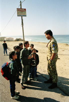 United Nations Truce Supervision Organization (UNTSO) - Peacekeepers&#039; Role Based on Trust of Local People