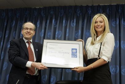 UN Development Programme Names Tennis Star its Goodwill Ambassador