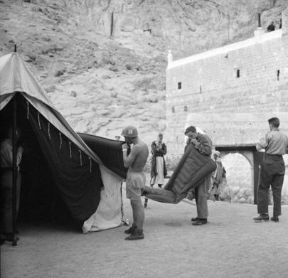 UNEF takes over St. Catherine's Monastery
