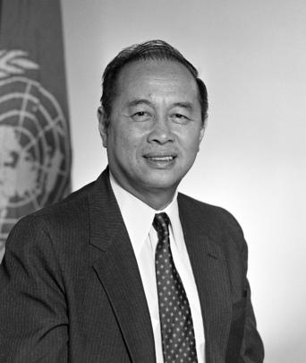 Portrait of Rafael M. Salas, UNFPA
