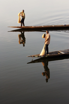 Fishermen at Work, Côte d'Ivoire