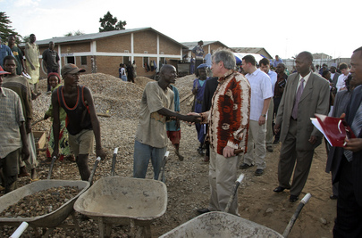 World Bank President Visits Burundi