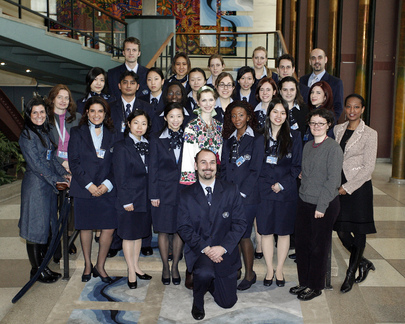 New Class of United Nations Tour Guides