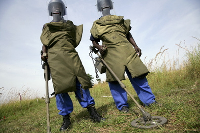 International Day for Mine Awareness and Assistance Observance in DRC