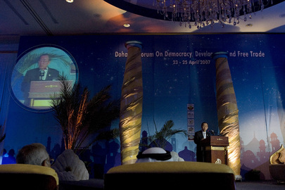 Secretary-General Addresses Forum on Democracy, Development and Trade
