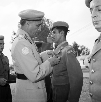 UNEF Medals Presented to Departing Brazilian Troops