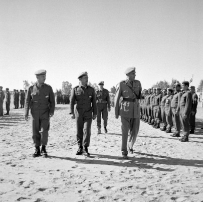 Brazilian Troops Serving with UNEF