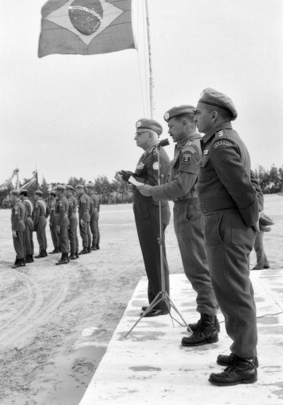 Rotation of Brazilian Troops Serving with UNEF