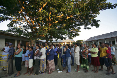 Voting Begins in Presidential Election in Timor-Leste