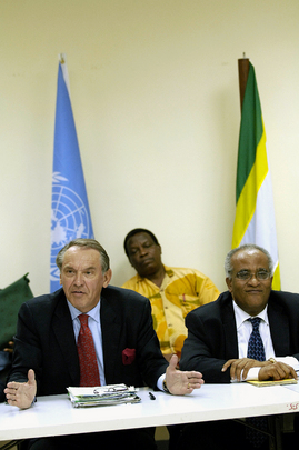 UNs, African Union Special Envoys Hold Joint Briefing on Sudan