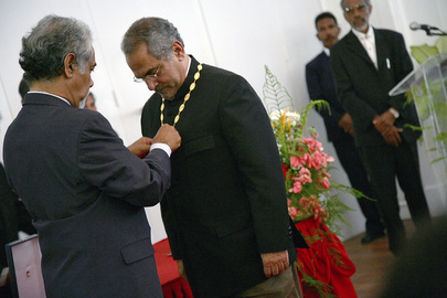 New Timor-Leste President Honoured