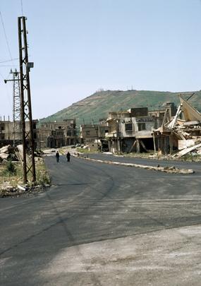 Ruins of Quneitra, Syria