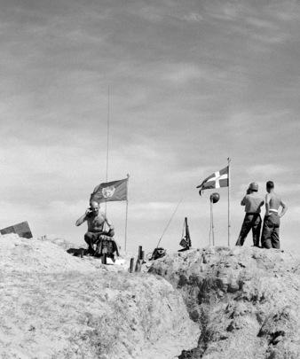 Swedish Units with UNEF in the Sinai Peninsula