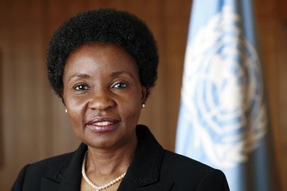 A Vice-Secretária-Geral da ONU, Asha-Rose Migiro. (ONU/Mark Garten)