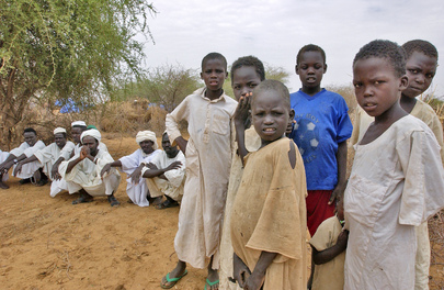 Internally Displaced Persons Camp in Sudan