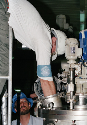 UN Special Commission Teams Inspect Iraq's Nuclear, Chemical and Biological Weapons Capacity