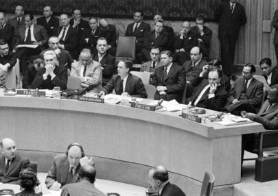 Security Council Meets on South Africa