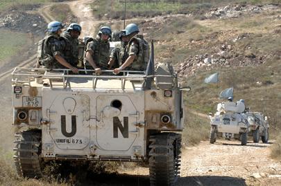 UNIFIL Patrols in Southern Lebanon