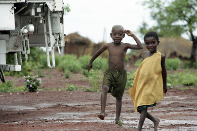 Young Children in DRC