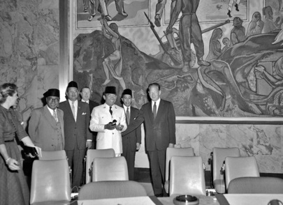 President of Indonesia Visits United Nations