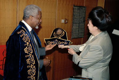 Secretary -General Meets Kazakhstan Permanent Representative