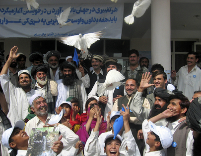 Afghan Community Observes International Day of Peace