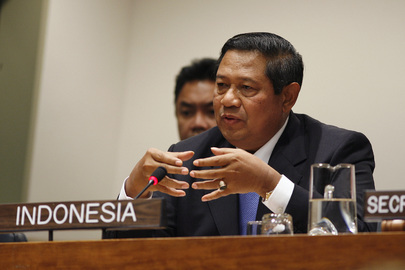 President of Indonesia Addresses Joint Press Conference
