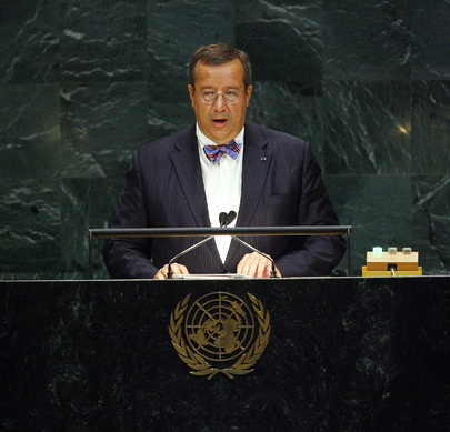 President of Estonia Addresses UN General Assembly