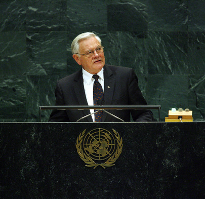 President of Lithuania Addresses UN General Assembly