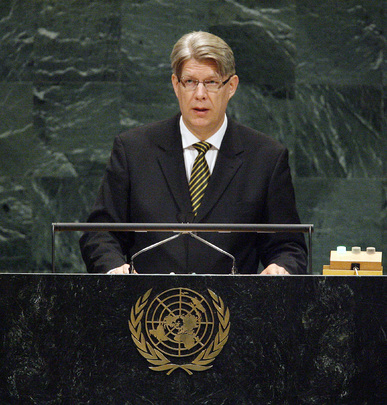 President of Latvia Addresses UN General Assembly
