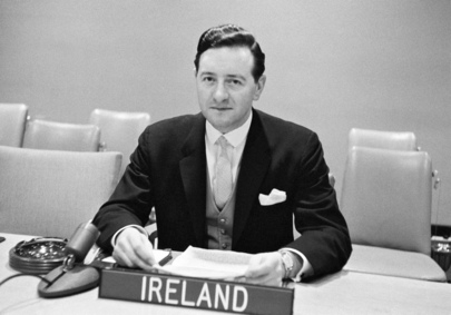 Eamon L. Kennedy of the Permanent Mission of Ireland to the UN