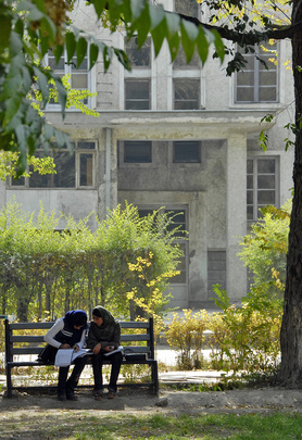 Afghan Girls Return to University