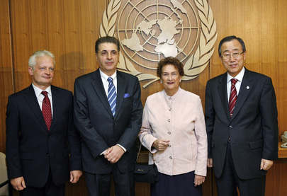 Secretary-General Meets Heads of UN System Main Organs