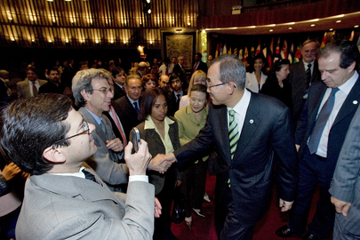 Secretary-General Meets ECLAC Staff