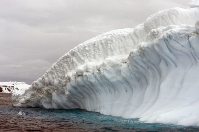 View of Collins Glacier in Antarctica