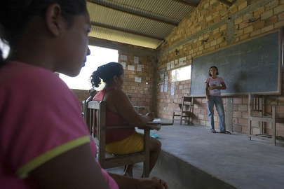 National Tapajos Forest Residents in Class