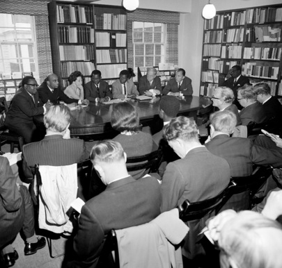 Press Conference Given by Sub-Committee on Southern Rhodesia in London