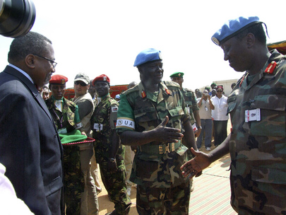 African Union Transfers Authority to UNAMID