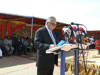 Special Representative for Sudan Addresses UNAMID Handover Ceremony