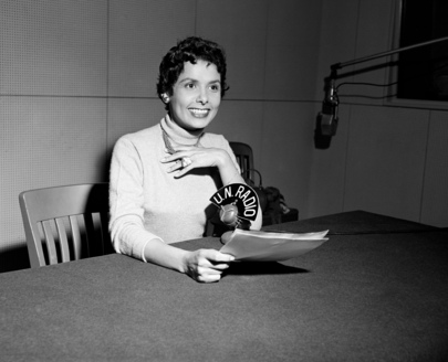 Miss Lena Horne Narrates Featurette for U.N. Radio