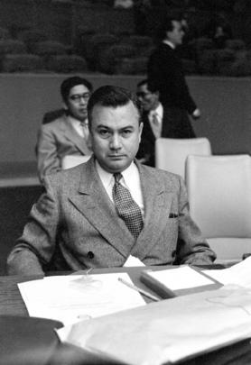 H.E. Mr. James Barrington, of Burma