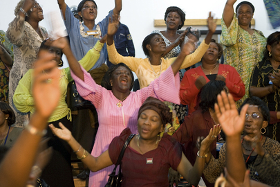 Congolese Women Rejoice after Signing of Peace Accord in Goma